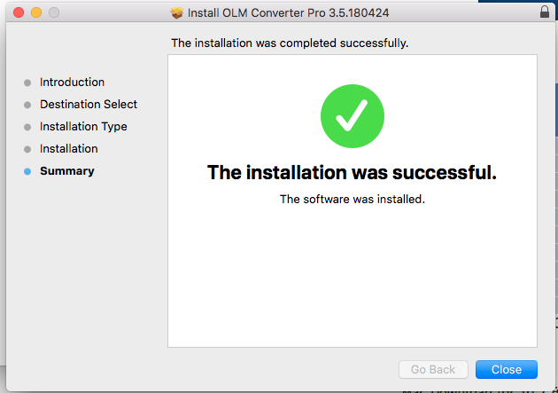 convert olm to mac mail