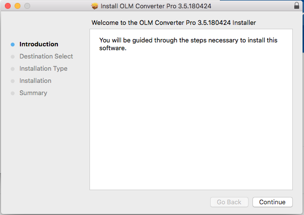 convert olm to apple mail client