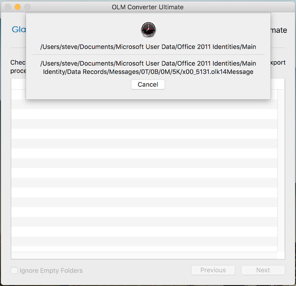 export outlook 2011 to mac mail