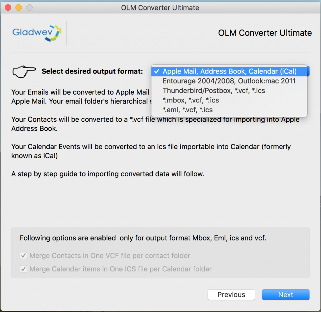 How to Export Outlook 2011 to Mbox with Outlook 2011 to MBOX Converter