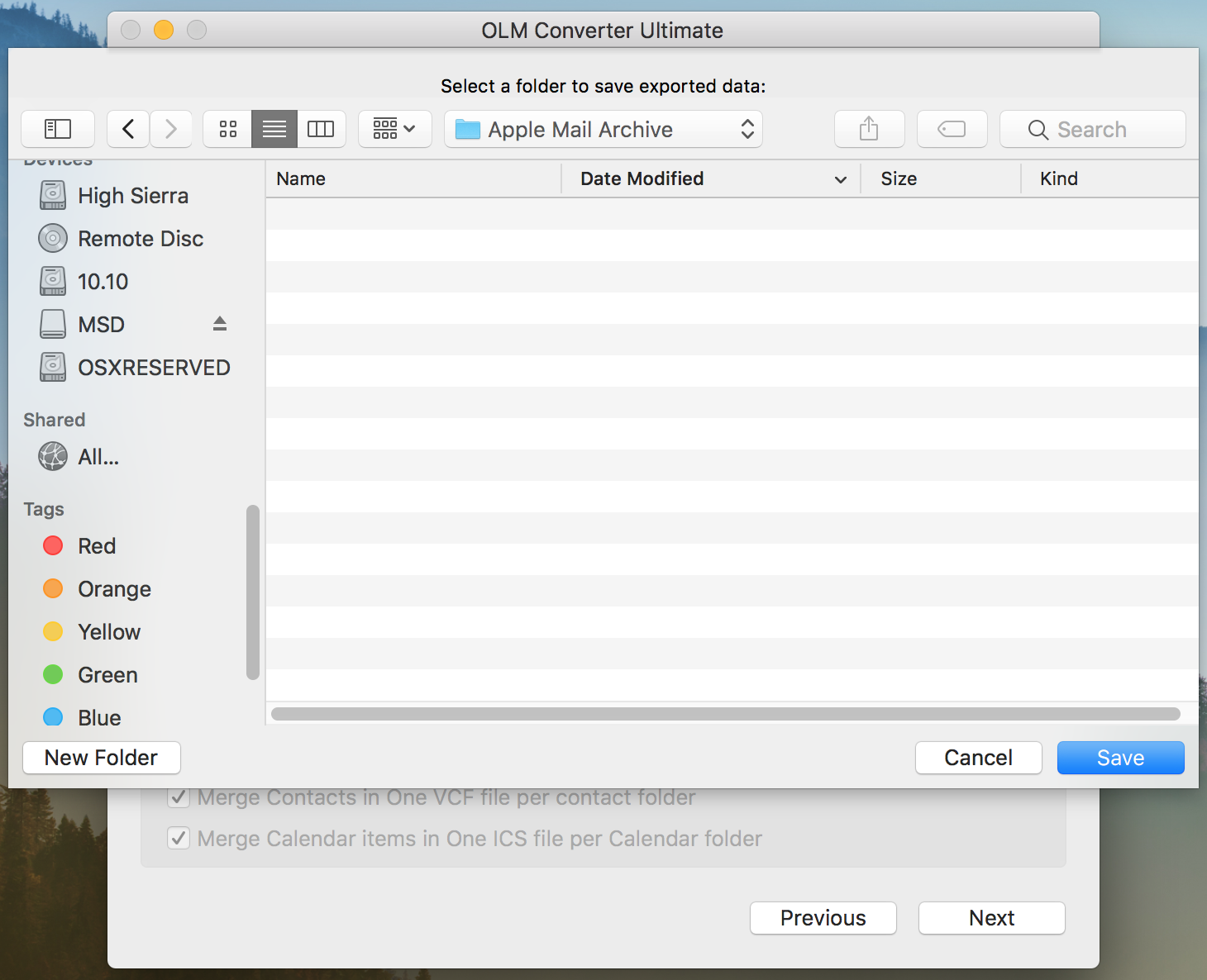 transfer outlook 2011 to mac mail